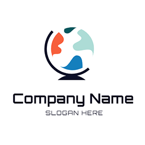 Colorful Globe logo design