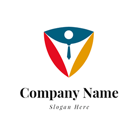 Colorful Shield and Uniform logo design