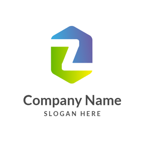 Combined Hexagon and Letter Z logo design