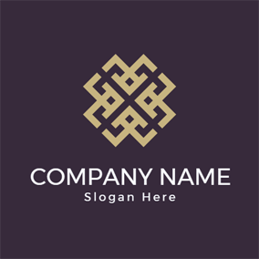 Cross Golden Rectangle logo design