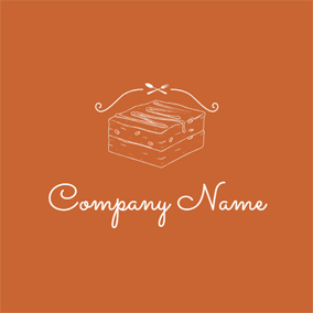 Cross Tableware and Brownie logo design