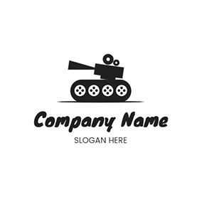 Cute Tank Logo logo design