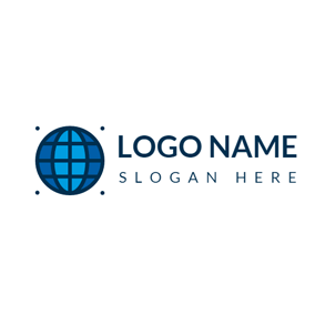 Dark Blue Earth logo design
