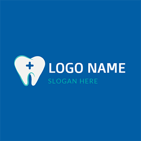 Dental Tooth Icon Vector logo design