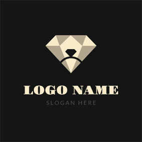 Diamond Ring and Jewelry logo design