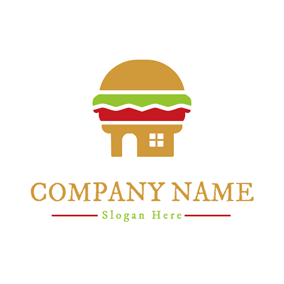 Dining Room and Double Sandwich logo design