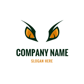 Dinosaur Eye and Raptor logo design