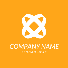 Double Circle and Social Network logo design