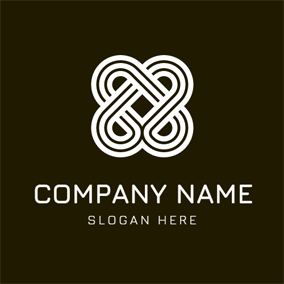Double Number Eight logo design