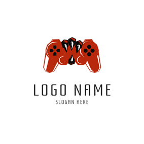 Eagle Claw and Game Controller logo design