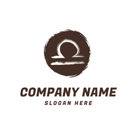 Extremely Simple Libra Sign logo design