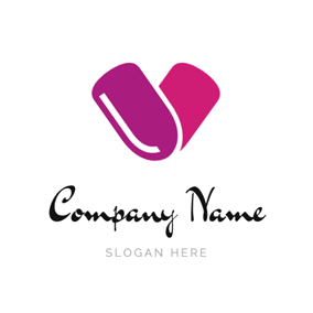 Fashion and Beauty Fingernail logo design