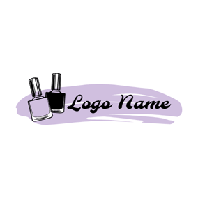 Fashion and Beauty Nails logo design