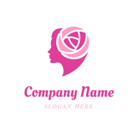 Fashion Headwear and Beautiful Hair logo design
