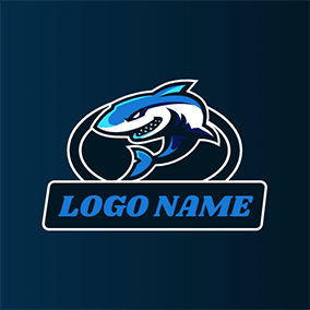 Fierce Orca Logo logo design
