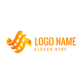 Film Movie 3D Advertising logo design