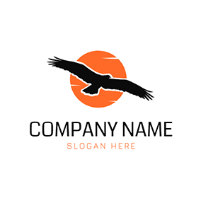 Fly Sun Power and Osprey logo design