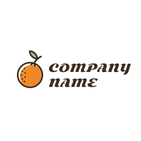 Fresh Ripe Orange logo design