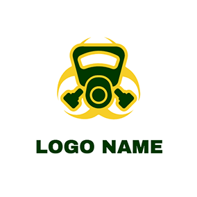Gas Mask Logo logo design
