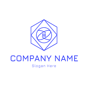 Geometry Shape Mercury logo design