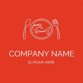Gourmet and Cutlery logo design