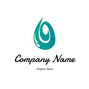 Green and White Jade logo design