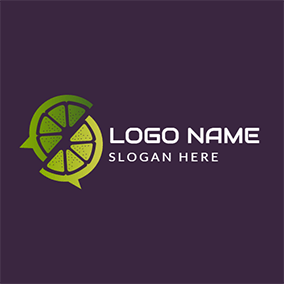 Green and Yellow Orange logo design