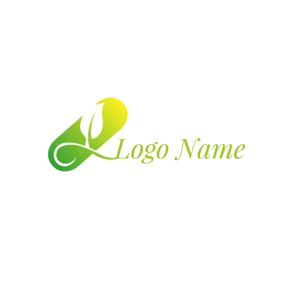 Green Capsule and Physiotherapy logo design