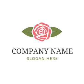 Free Rose Logo Designs Designevo Logo Maker