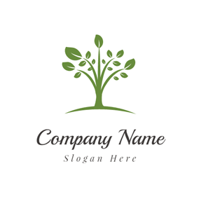 Green Tree logo design
