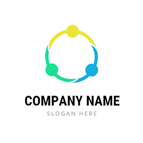 Hand In Hand Circle logo design