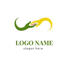 Hand In Hand Donation Logo logo design