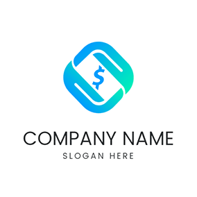 Hand Transaction Cycle Payment logo design