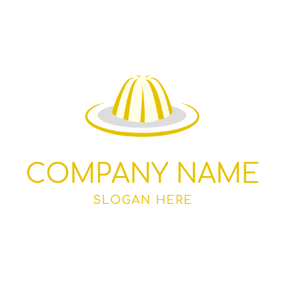 Hat Shape and Jelly logo design
