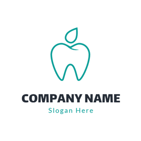 Healthy Clean Teeth logo design