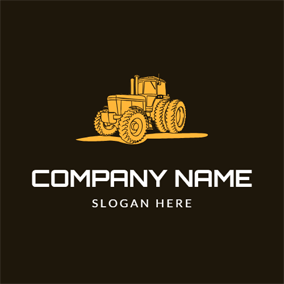 Heavy Metal and Tractor logo design