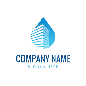High Building and Cleaning logo design