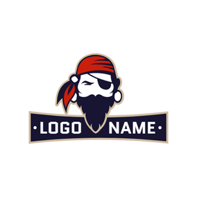 Horrible Caribbean Pirates logo design