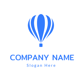 Hot Air Balloon and Travel Agency logo design
