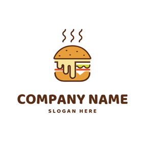 Hot Delicious Sandwich logo design