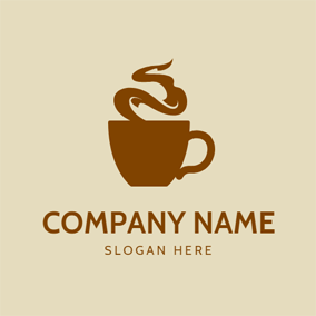 Hot Gas and Hot Coffee logo design