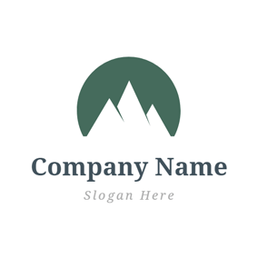 Huge Steep Mountain logo design