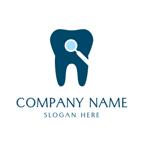Ill Dark Green Teeth logo design