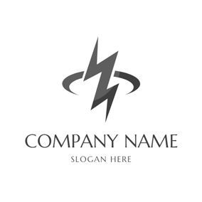 Lightning Bolt and Thunder logo design