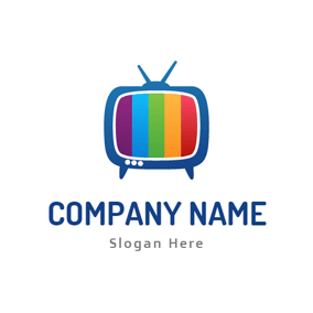 Free TV Logo Designs   DesignEvo Logo Maker