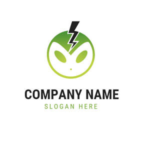 Lovely Strange Face and Gaming logo design
