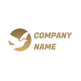 Lovely White Dove logo design