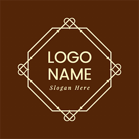 Luxury Geometric Logo logo design