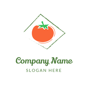 Mature Red Tomato logo design