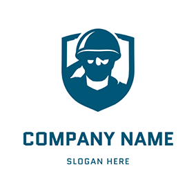 Military Army Soldier logo design